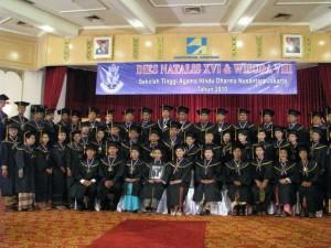 Wisuda STAH DN Jakarta 11 Des 2010