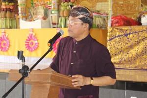Dirjen Bimmas Hindu Kementerian Agama RI Prof. Drs. I Ketut Widnya, MA, M.Phil., Ph.D